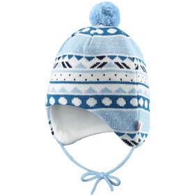 Reima Seimi Gorro Bebés, azul/blanco